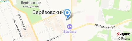 Детский сад №22 на карте Берёзовского