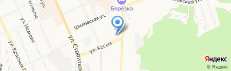 Кондитерка на карте Берёзовского