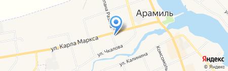 Свояк на карте Арамиля