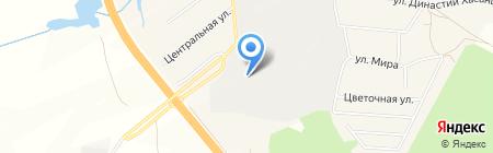 Транспортная компания на карте Бородулино