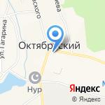 Садовник на карте Октябрьского