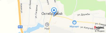Уральский банк Сбербанка России на карте Бородулино