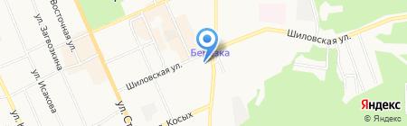 Мастерская по ремонту обуви на карте Берёзовского