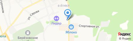 Владимирская Фабрика Дверей на карте Берёзовского