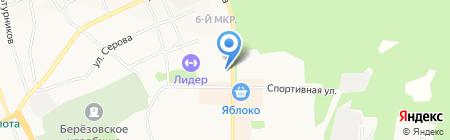 Гастрономъ на карте Берёзовского
