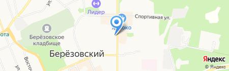 Krem на карте Берёзовского