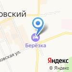 Магазин автозапчастей на карте Берёзовского