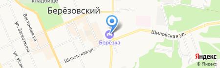 Сеть аптек на карте Берёзовского