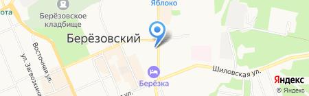 Оптика №38 на карте Берёзовского