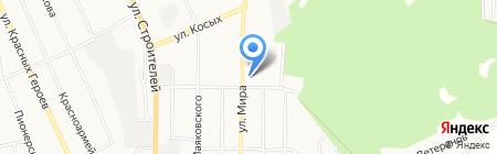 Общежитие Профи на карте Берёзовского