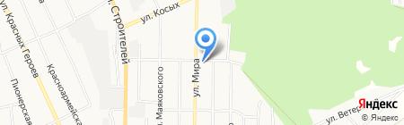 Электродно-металлургическая компания на карте Берёзовского