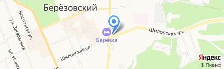 Личная пасека №81 на карте Берёзовского