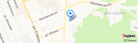 Детская поликлиника №1 на карте Берёзовского