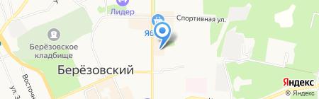 Творческая мастерская на карте Берёзовского