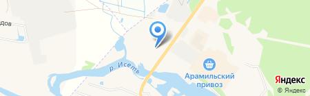 МегалитУрал на карте Арамиля