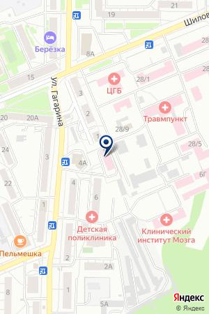 ЦЕНТР ГИГИЕНЫ И ЭПИДЕМИОЛОГИИ В СВЕРДЛОВСКОЙ ОБЛАСТИ В Г.БЕРЕЗОВСКИЙ (ФИЛИАЛ) на карте Березовского