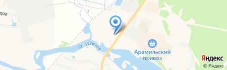 Три Я на карте Арамиля