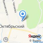 Средняя общеобразовательная школа №18 на карте Октябрьского