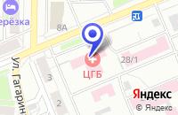 Схема проезда до компании ПАРИКМАХЕРСКАЯ в Березовском