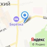 Радуга на карте Берёзовского