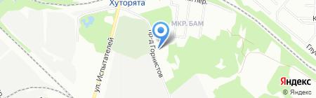 Почтовое отделение №60 на карте Екатеринбурга