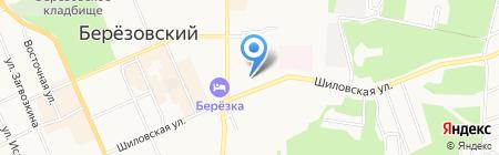 Окна & Двери на карте Берёзовского