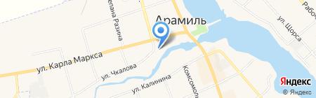 BASE на карте Арамиля