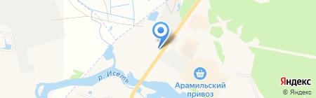 ПромСтальКомплект на карте Арамиля