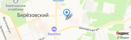 НПА-ПРОФИЛЬ-ПУ на карте Берёзовского