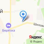 Всероссийское общество инвалидов на карте Берёзовского