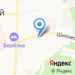 Берёзовская центральная городская больница на карте Берёзовского