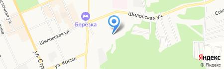 Березовская центральная городская больница на карте Берёзовского
