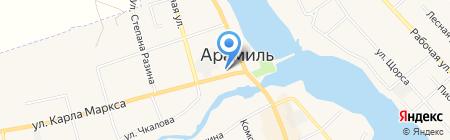 Квартал на карте Арамиля