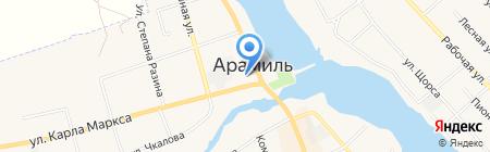 Ариант на карте Арамиля