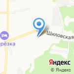 Ирекдент на карте Берёзовского