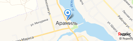 Pirat66.ru на карте Арамиля