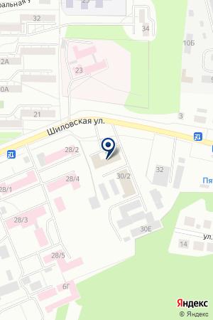 ПОСТЭКС на карте Березовского