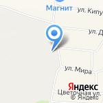 Лесная концессия на карте Октябрьского