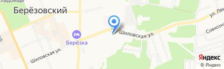 Модистка на карте Берёзовского