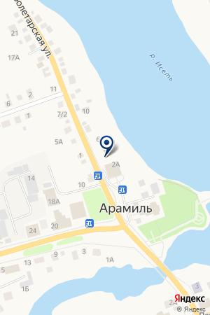 АГЕНТСТВО НЕДВИЖИМОСТИ ГОРОДОК на карте Арамиля