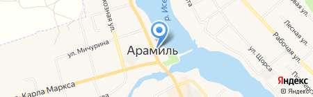 Стиль на карте Арамиля