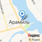 ПЕРРОН на карте Арамиля