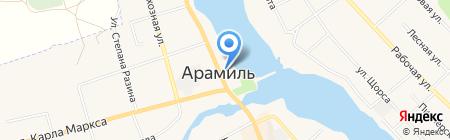 Юридическая консультация на карте Арамиля