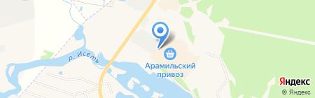Магазин зоотоваров на карте Арамиля