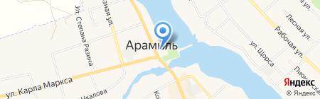 Мастерская по изготовлению памятников на карте Арамиля