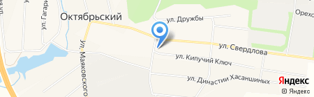 Октябрьская сельская Администрация на карте Бородулино