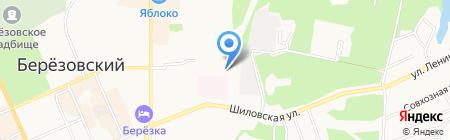 Комплексный центр социального обслуживания населения на карте Берёзовского