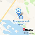 Банкомат на карте Арамиля