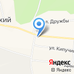 Лукошко на карте Октябрьского
