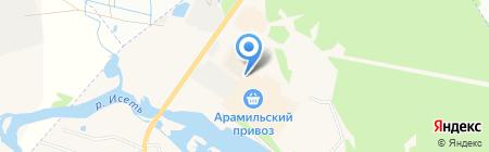Бухта Изобилия на карте Арамиля